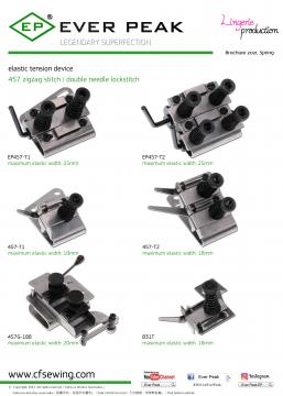 小型橡筋帶調節器