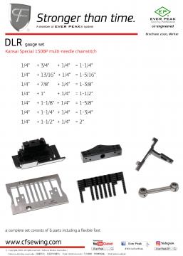 DLR系列 關西鏈縫針位